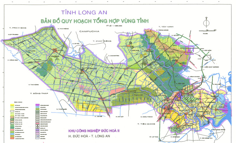 Long An Vietnam  city images : Long An Province, Vietnam for factory relocation