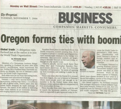 Oregonian business news